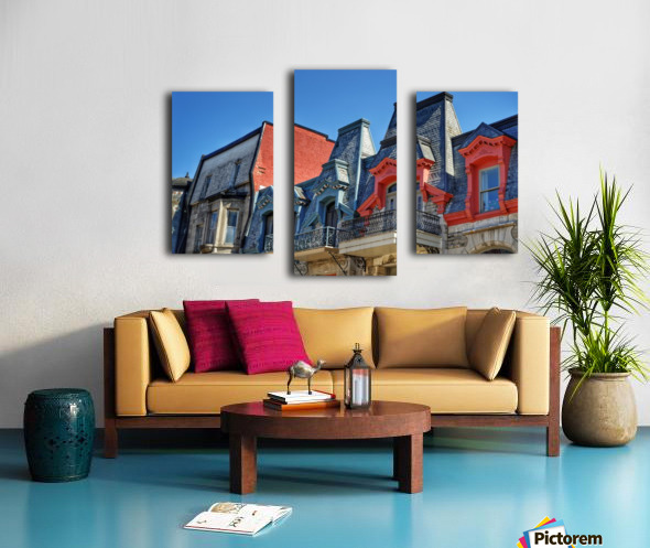 Montreal Rooftops Canvas print