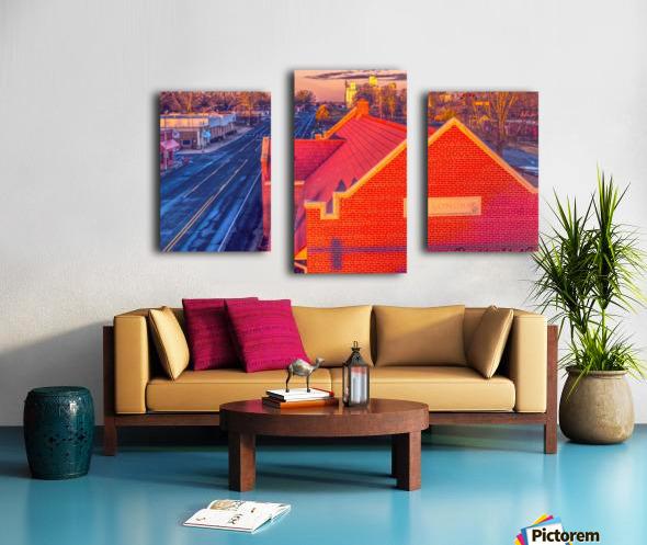 Lonoke, AR | Red Oak  Canvas print