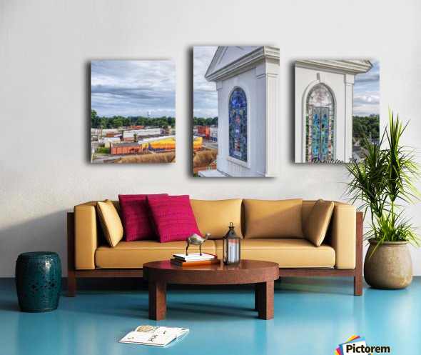 Beebe, AR   Downtown Canvas print