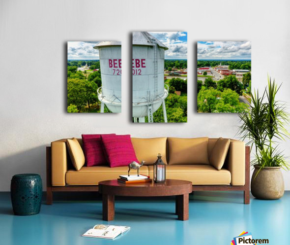 Beebe, AR | Water Tower Canvas print