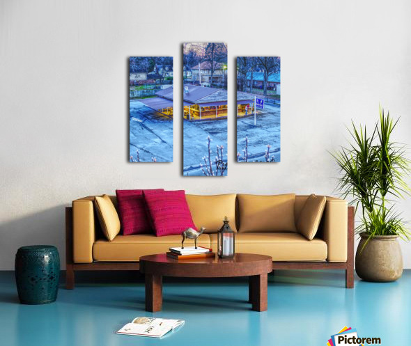 Lonoke, AR   Jackrabbit Dairy Bar  Canvas print
