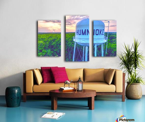 Humnoke, AR | Water Tower Canvas print