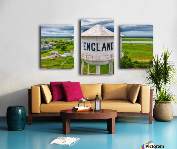 England, AR | Water tower Canvas print