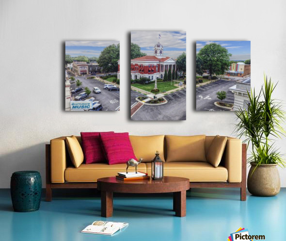 Searcy, AR | Courthouse Canvas print