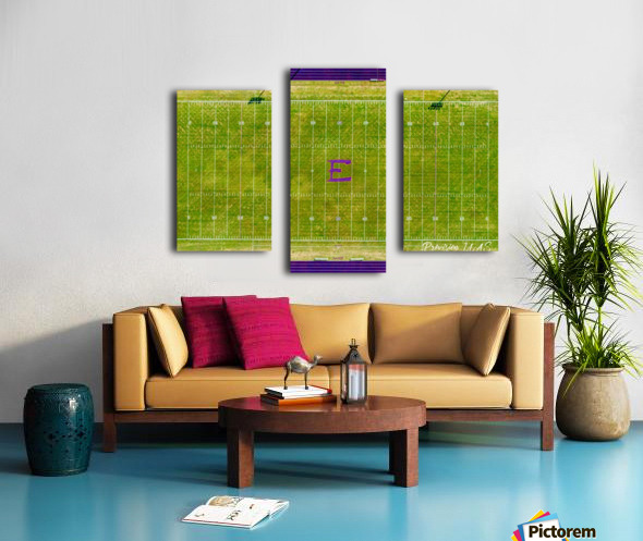 England, AR | Lions Football Field Canvas print