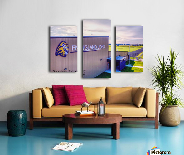 England, AR   Lions Field House & Stadium Canvas print