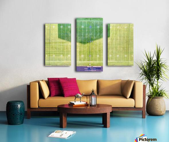 Lonoke, AR   Jackrabbits Football Field Canvas print