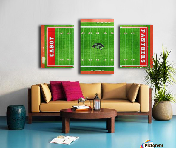 Cabot, AR | Panther Football Field Canvas print
