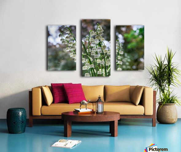 Thrush Flowers Canvas print