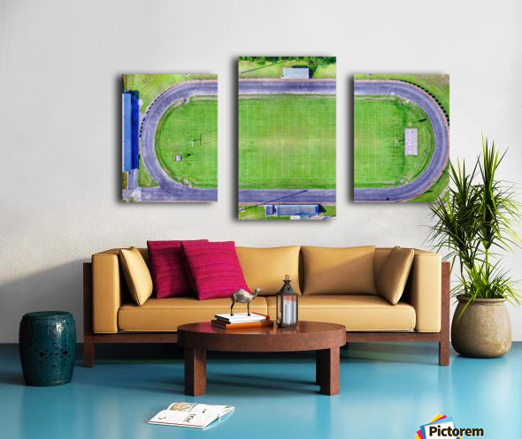 Hazen, AR | Hornets Football Arena Canvas print