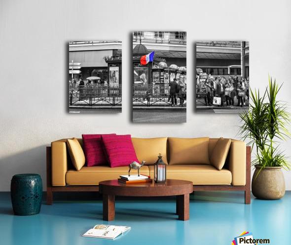Paris - Newsstand Canvas print