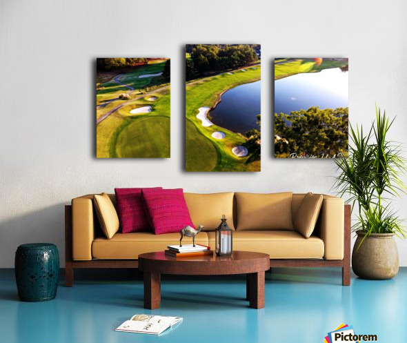 Westpoint, MS   The 18th Hole Canvas print