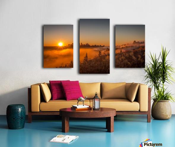 Calgary Sunrise Canvas print