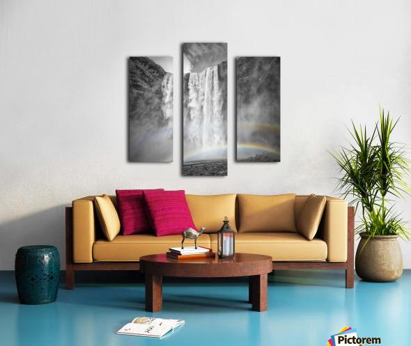 ICELAND Skogafoss Canvas print