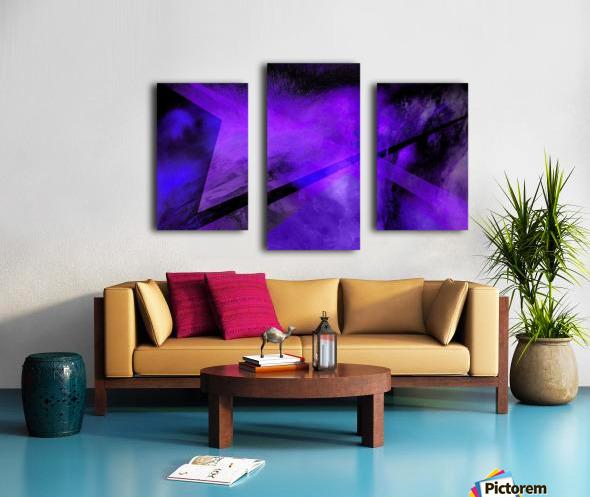 Geometric Abstract B Canvas print