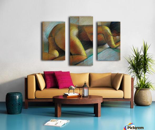 Roundism - 26-09-17 Canvas print