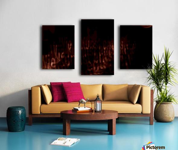 19 Canvas print