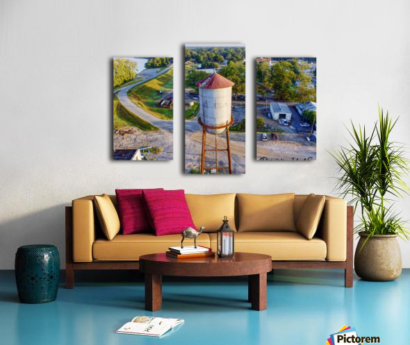 Clarendon, AR | Water Tower Canvas print