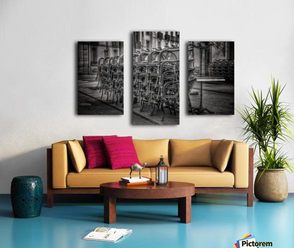 French Bistro Canvas print