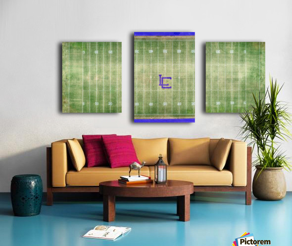 Lawrenceburg, TN | Wildcats Football Field Canvas print