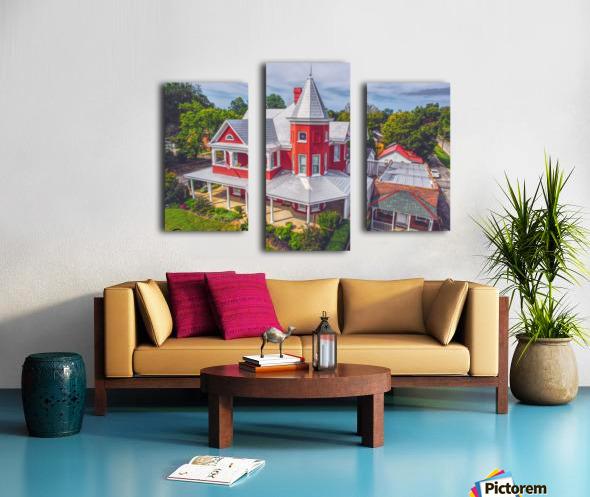 Lawrenceburg, TN   The Garrett House Canvas print