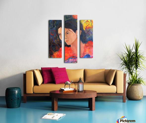 Eve Canvas print