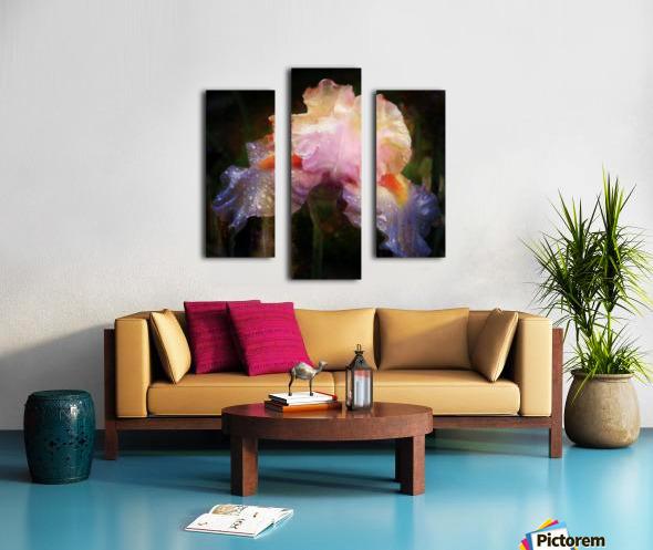 Enchanted Iris   Canvas print