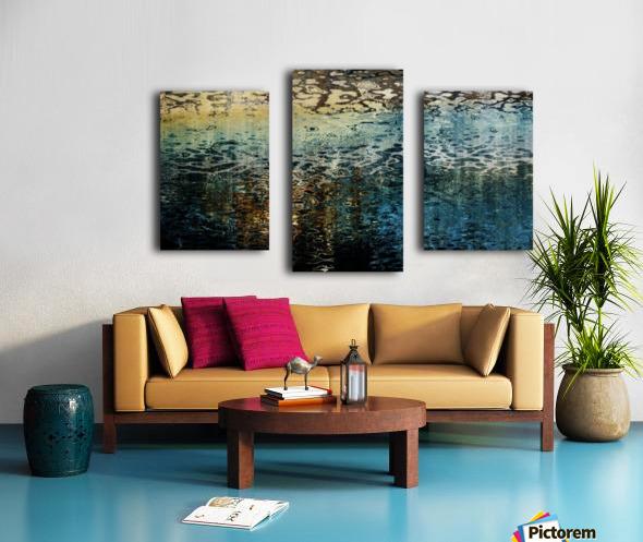 Armonk Snowmelt Canvas print