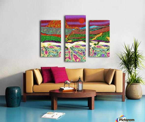 Mountainscape 0625 Canvas print