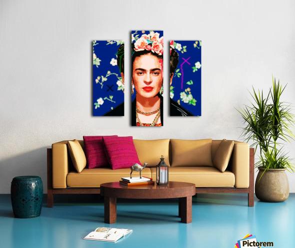 Frida X Canvas print