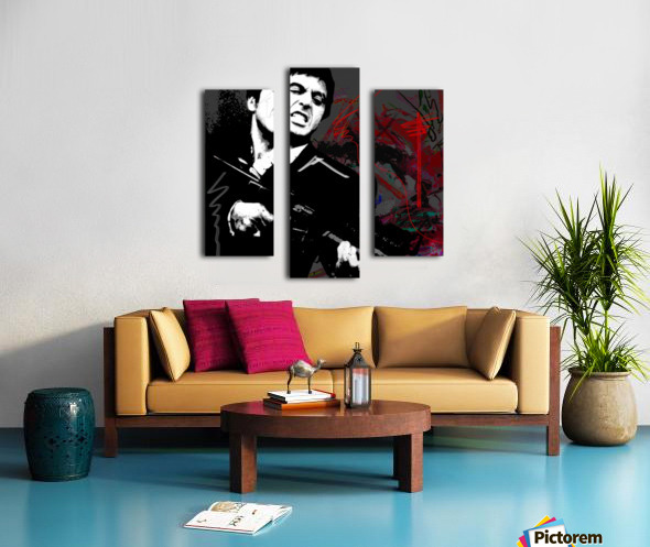 Say X Canvas print