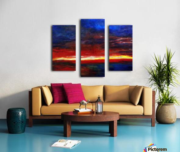 Aries Fire Canvas print