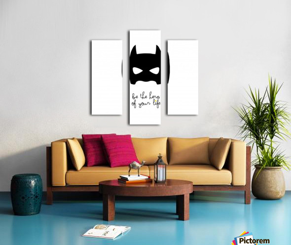 BATCHILD Canvas print