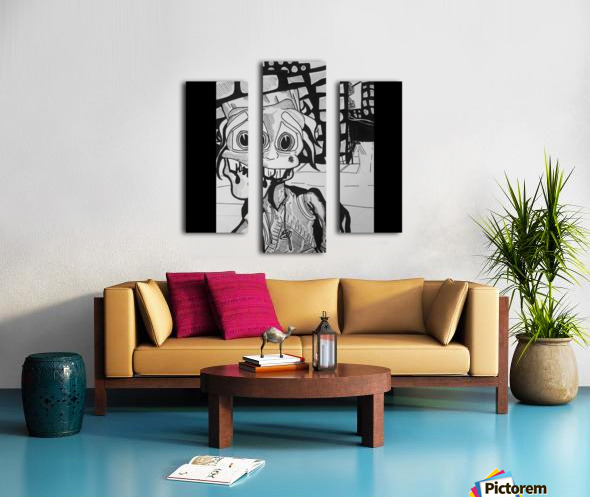 Looney  goon Canvas print