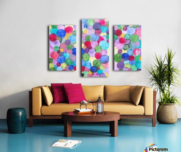 Colored Balls. Canvas print