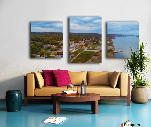 Grafton, IL City Canvas print