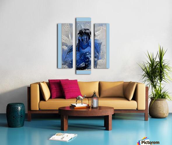 CA100 Canvas print