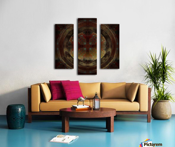 Maltese Window Canvas print