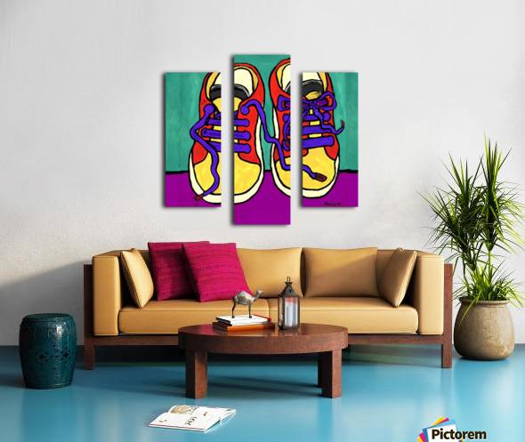 TENNIE RUNNERS Canvas print