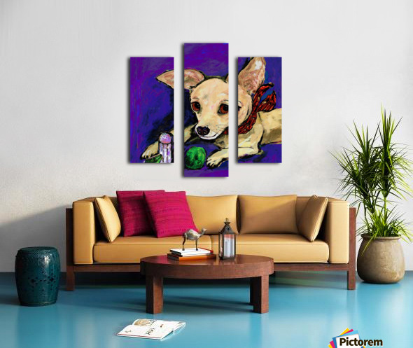 TACO & LIME Canvas print