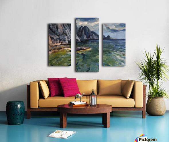 Capri grotto Canvas print