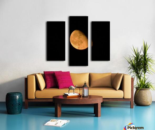 Moon - 4.27 Canvas print