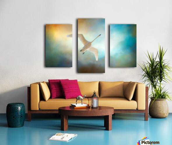 Swan Wings Canvas print