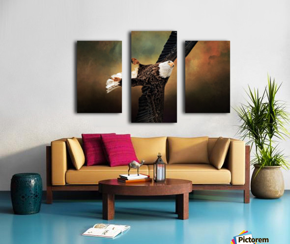 On a Dime Canvas print