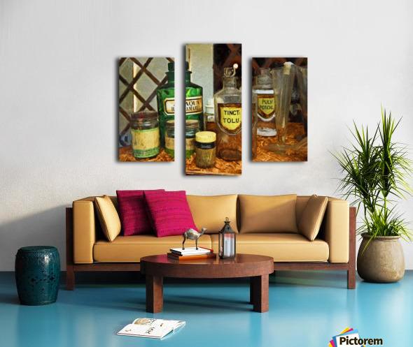 Pharmacie Canvas print