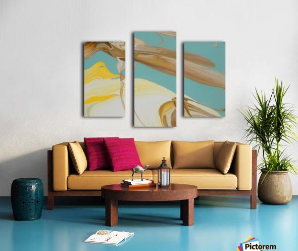 SUN BUBBLE Canvas print