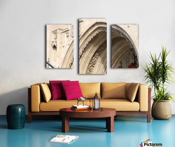 Church Arch Canvas print