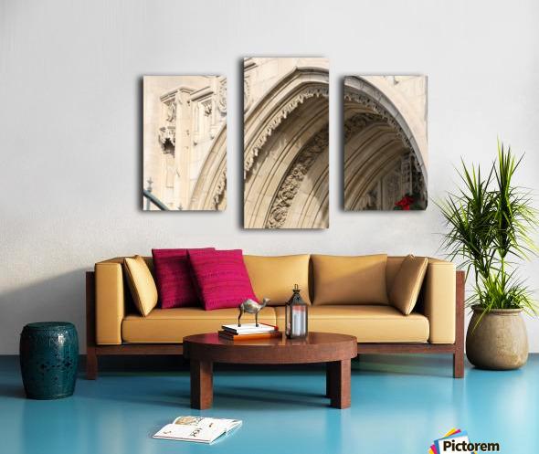 Church Arch Canvas print