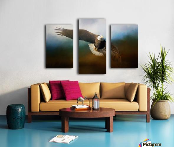 Raptor Canvas print