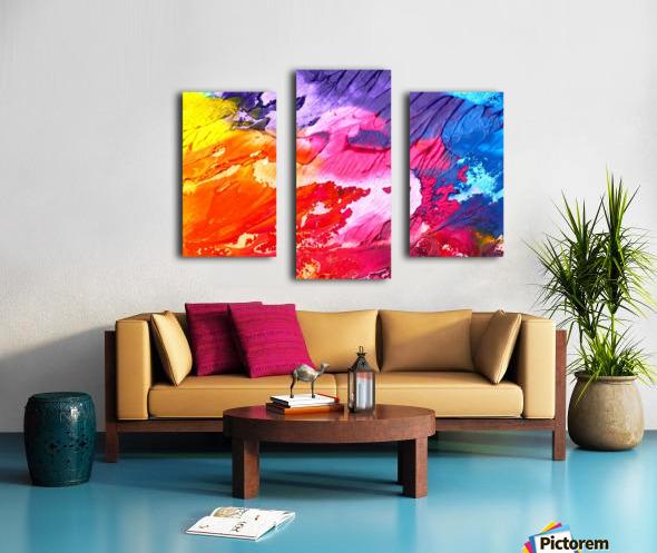 abstr Canvas print